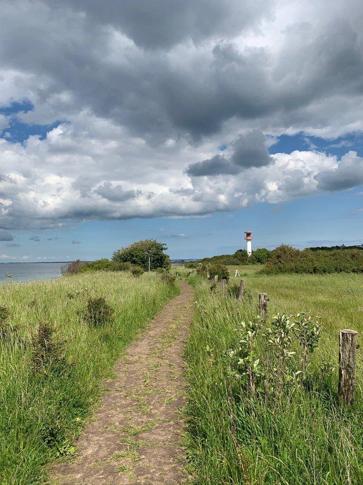 Heiligenhafen-Steilküste-Leuchtturm