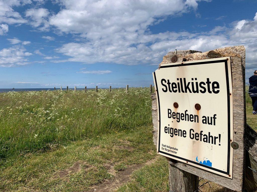 Heiligenhafen-Steilküste