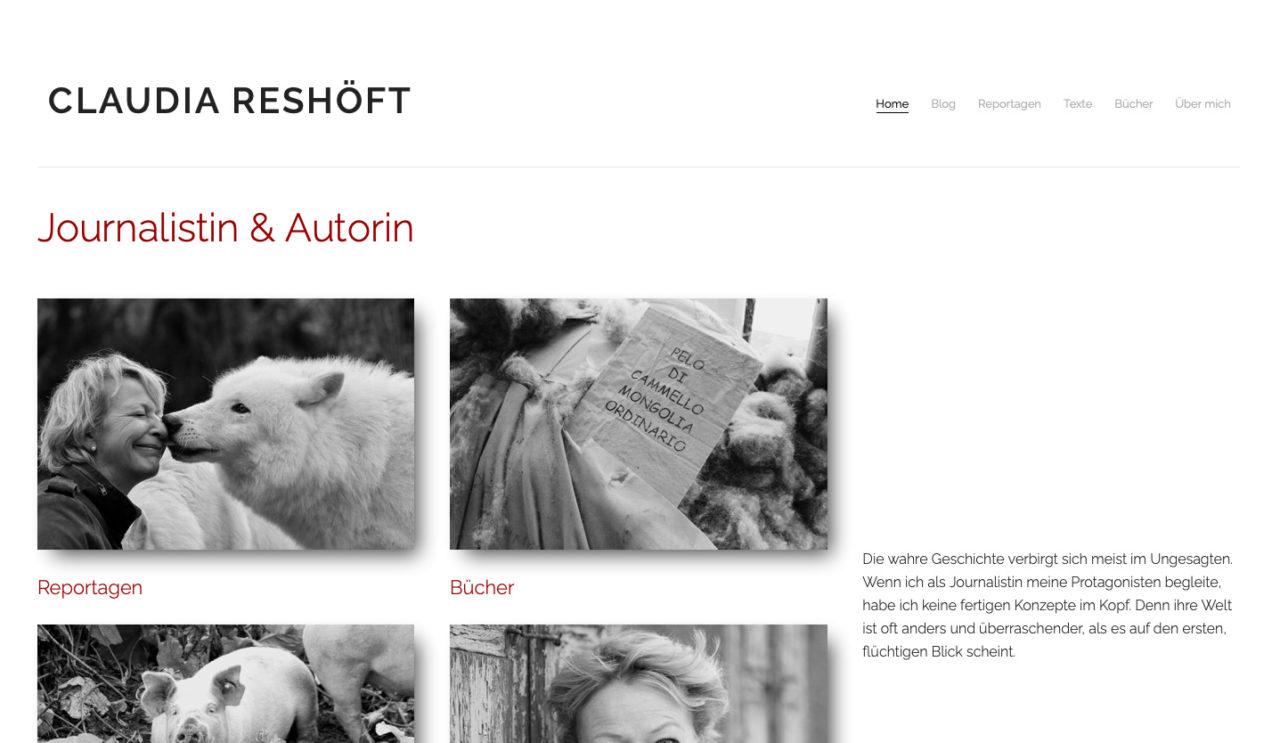 www.claudia-reshoeft.de
