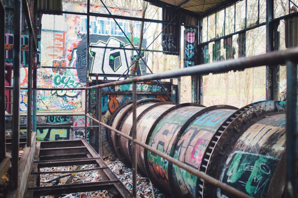 Die alte Müllverbrennungsanlage in Kiel